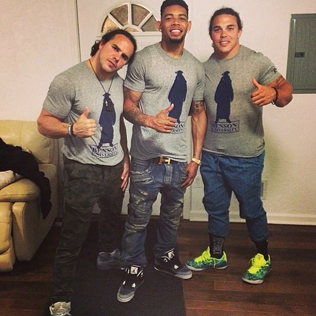 Joe Haden wearing Air Jordan IV 4 Fear