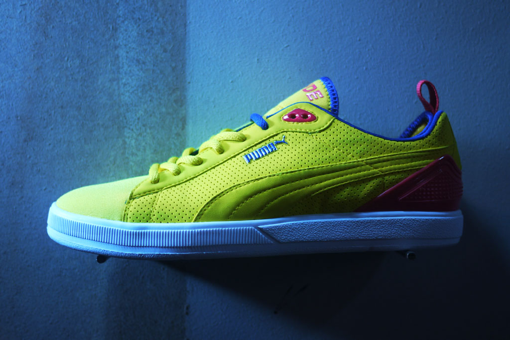 UNDFTD x PUMA Neoprene Clyde Yellow (1)