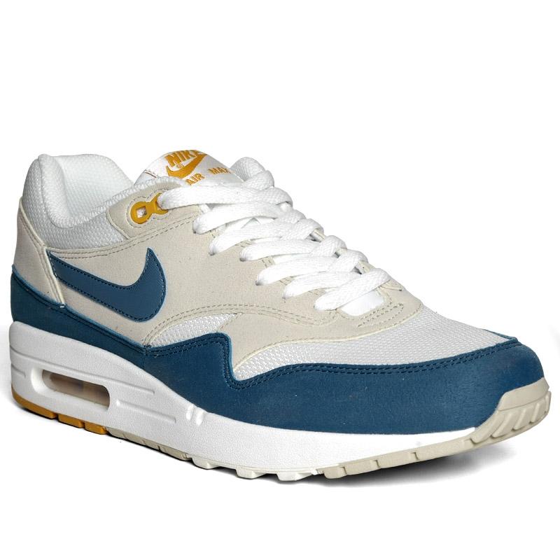 womens nike air max 1 white blue