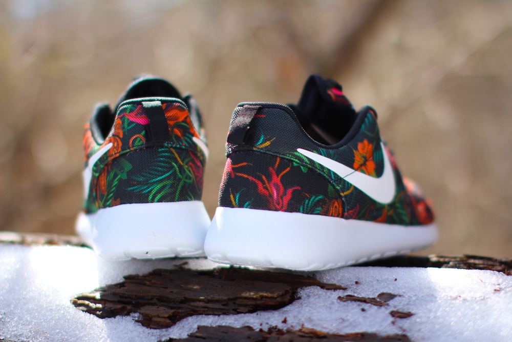 quality design a9e1e 61775 The Nike Roshe Run Print floral in question can be found now at NSW  accounts like Rock City Kicks.