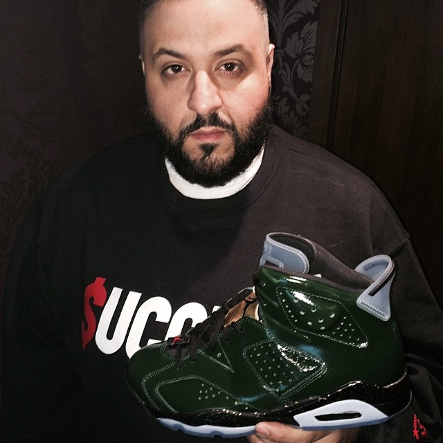 DJ Khaled Picks Up Air Jordan VI 6 Champagne