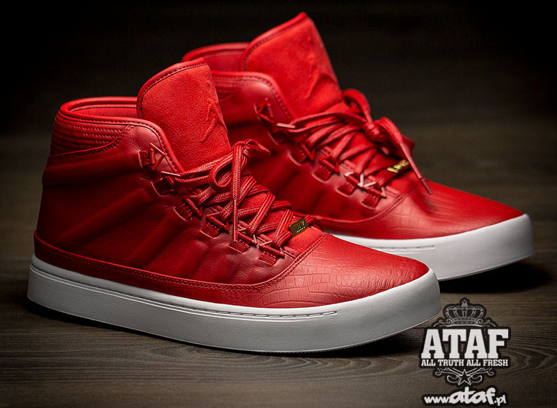 40870224fd5e Your Best Look Yet at Russell Westbrook s Air Jordan Sig Shoe. In all red  ...