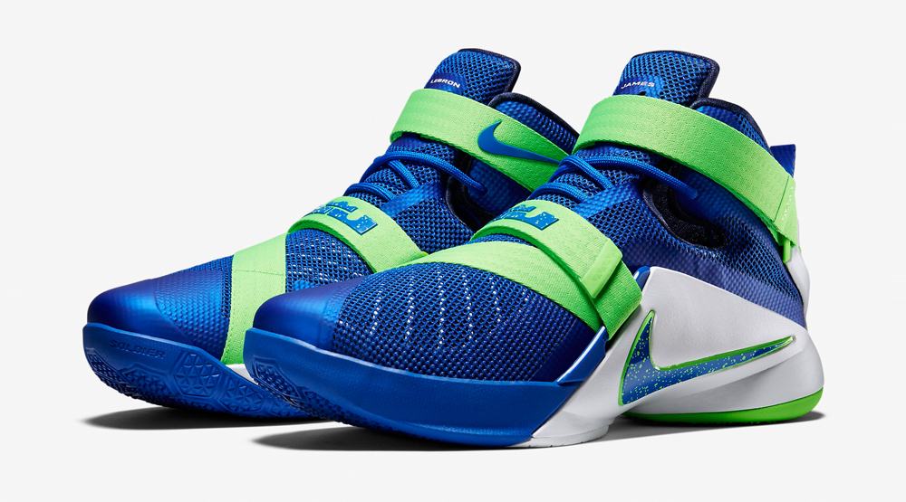 competitive price 461e7 95fbc Nike Brings 'Sprite' Flavor to New LeBrons | Sole Collector