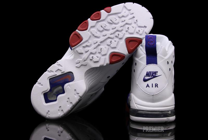 Nike Air Max Barkley White White Old Royal Gym Red 488119-106 (3)