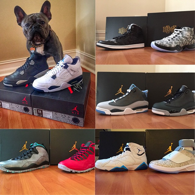 Gio Gonzalez (And His Dog) Got a Bunch of Air Jordans Early   Sole ...