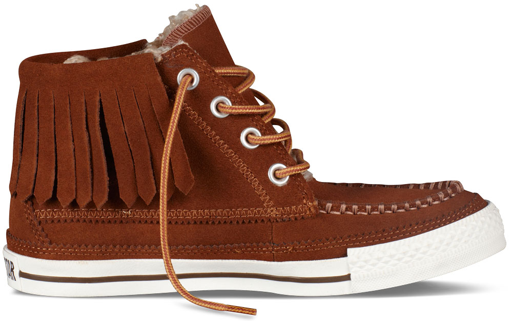 Converse Women's Chuck Taylor Moccasin Brown (1)