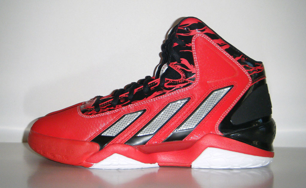 brand new 46531 c41aa adidas adiPower Howard 3 Red Black (2)