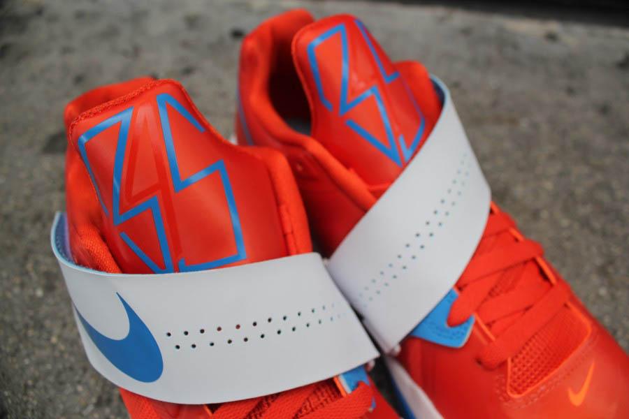 new styles 0a3fc 4d7f9 Nike Zoom KD IV Team Orange Photo Blue White 473679-800 (3)