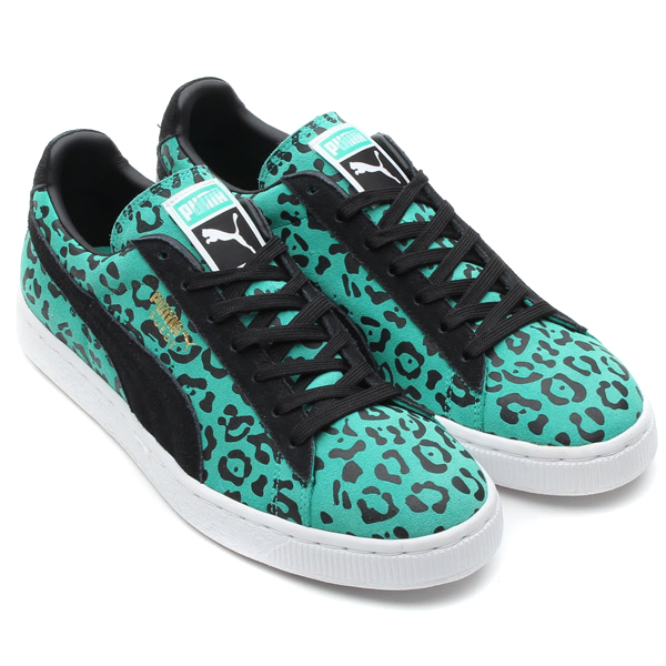 7e9ee3ae3cbcfe PUMA will soon release the classic Suede low-top in a new aqua green