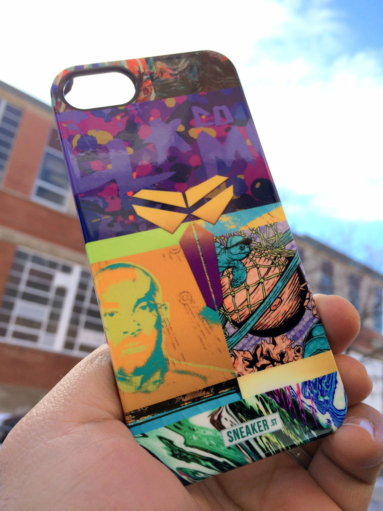 SneakerSt x Uncommon Kobe 'What The Prelude' iPhone Case (1)