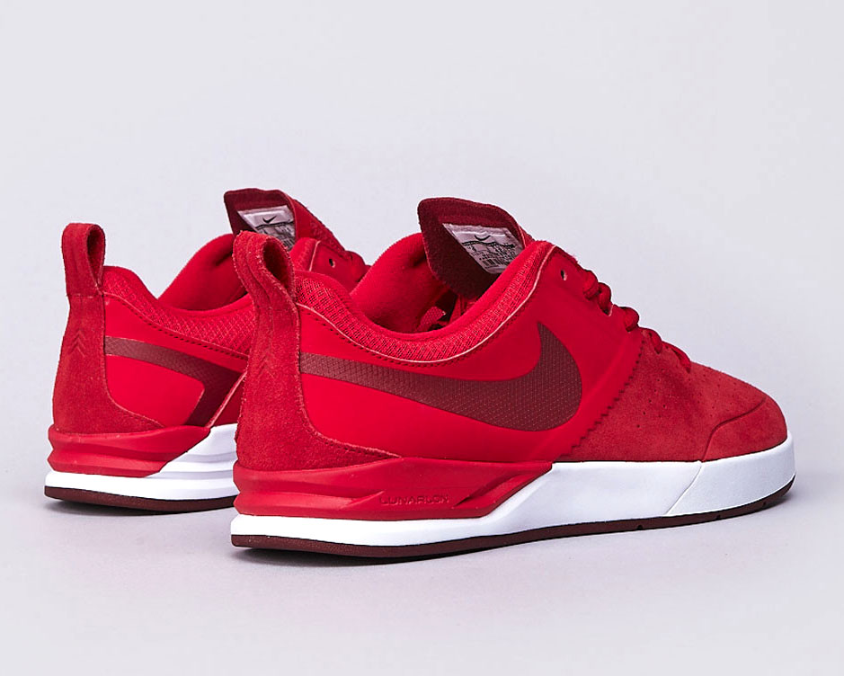 4962ac90be36 Nike SB Project BA -  University Red   White - Chianti
