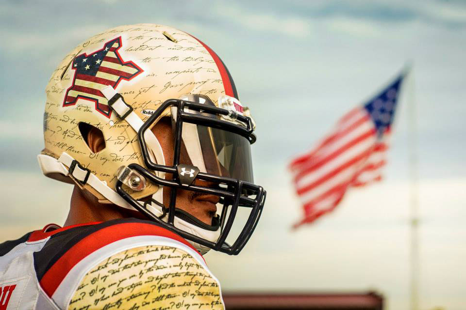 Maryland's Under Armour 'Star-Spangled Banner' Uniforms (8)