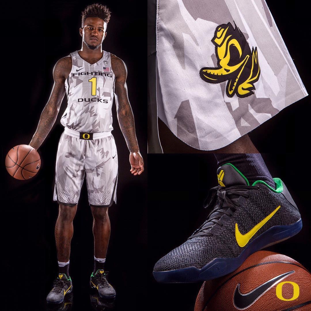 Nike Kobe 11 Oregon Ducks Armed Forces