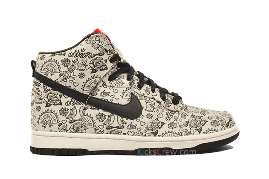 ... shop nike wmns dunk high valentines day sail black varsity red 408173  108 82dfd 1bbcd f56cf0f409