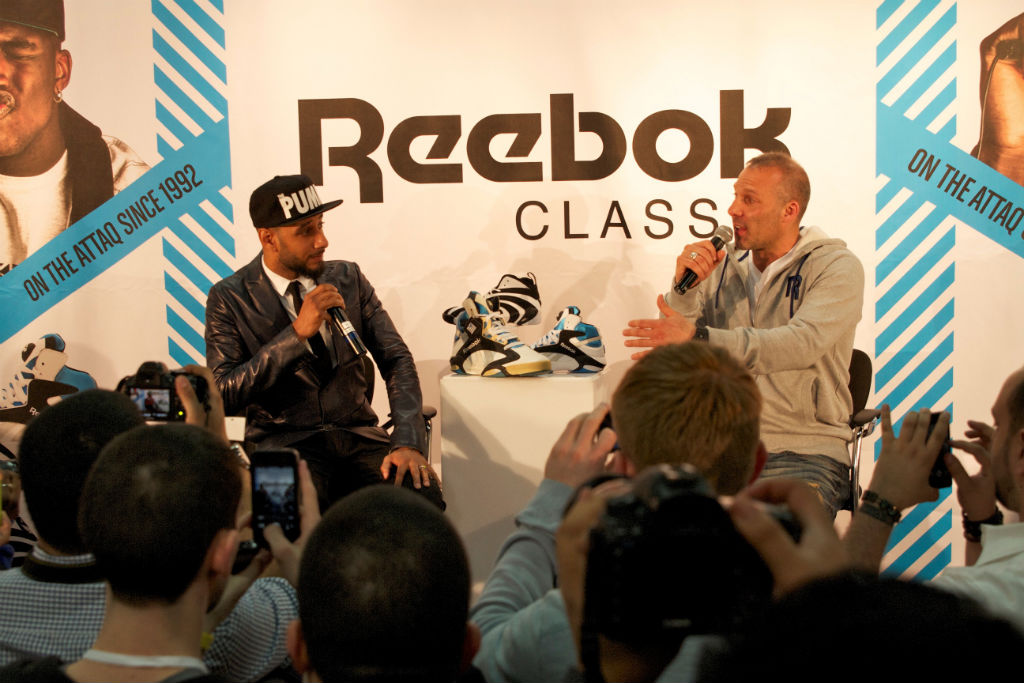 Shaq, Swizz Beatz & Tyga For Reebok Classics At Project (9)