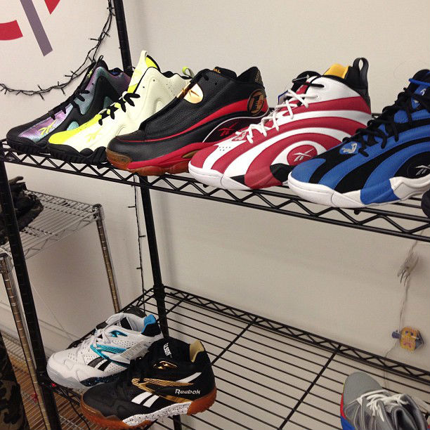 Reebok Classics 2013 Preview // Shaqnosis, Kamikaze II, Answer I & Scrimmage Mid