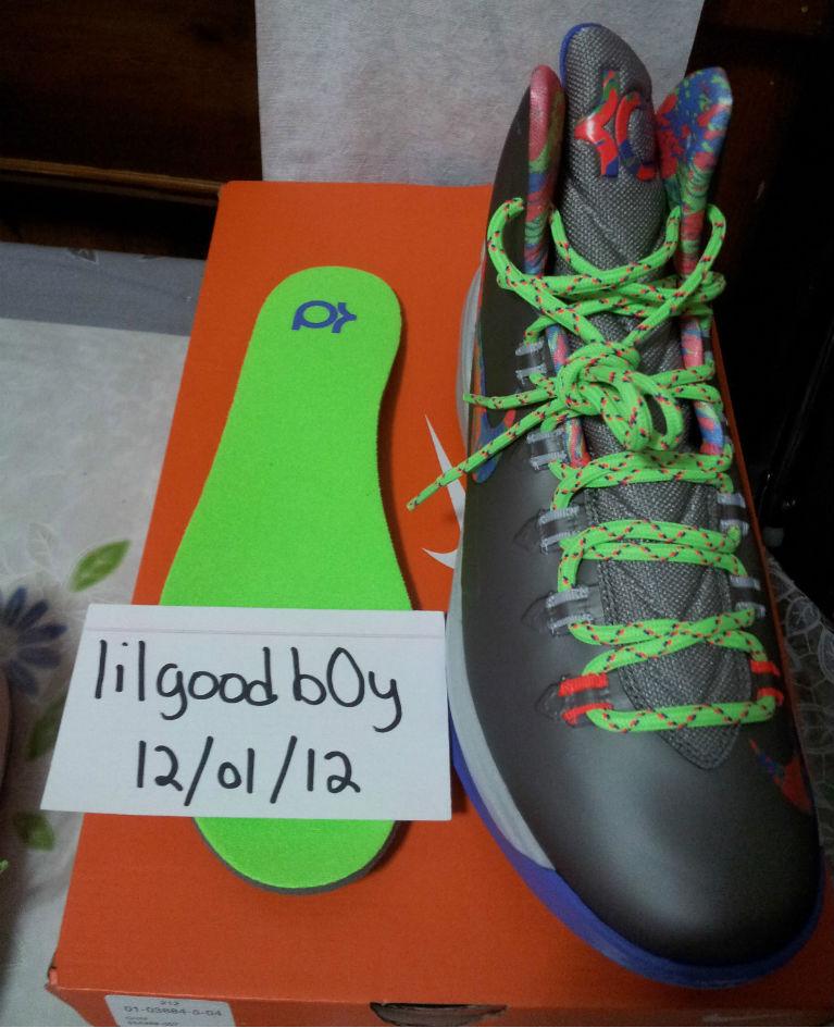 Nike KD V Energy Sport Grey Violet Force Strata Grey Bright Crimson  Electric Green 554988- adf31ed0a