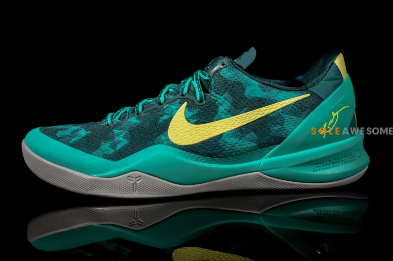 cdb9f7f786ad Release Date    Nike KOBE 8 SYSTEM - Dark Atomic Teal Electric Yellow-Atomic
