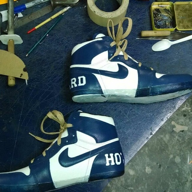 Diddy's 'Howard University' Air Jordan 1 by Relevant Customs (3)