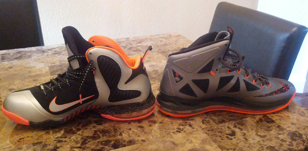 Nike LeBron X 10 Silver Black Orange Mango (19)