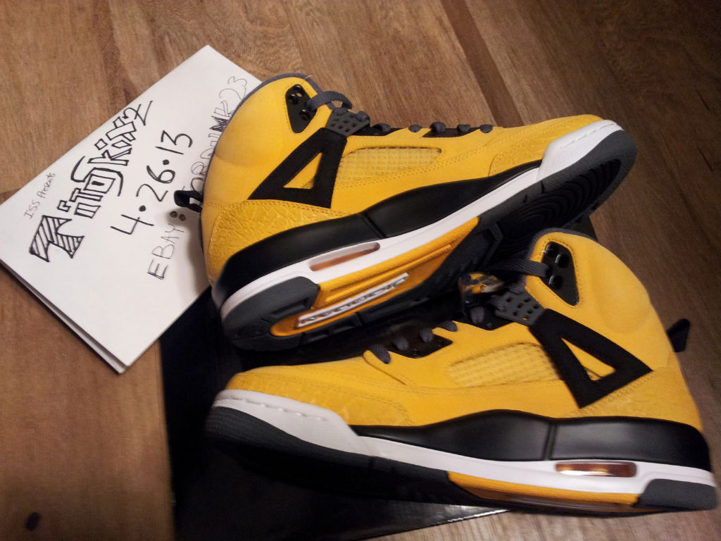 Jordan Spizike - University Gold Sample (2)