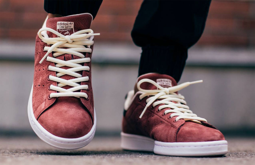 adidas Stan Smith Rust Red (4)