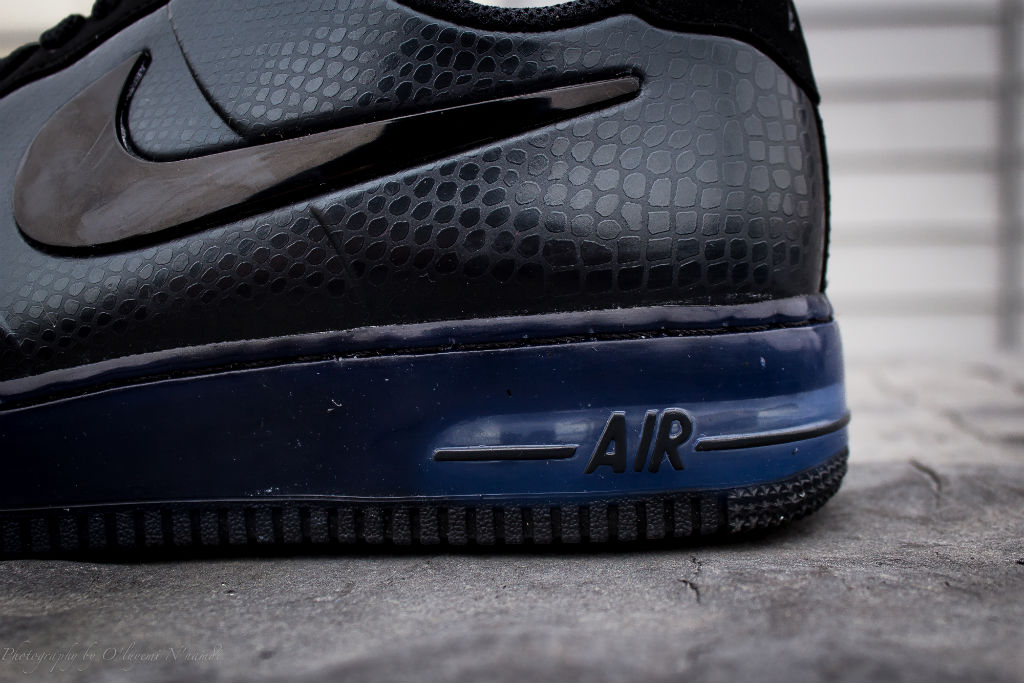 Nike Air Force Low Black Snake
