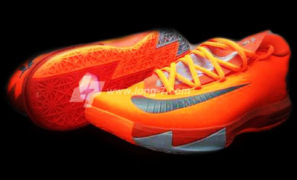 Nike KD VI Total Orange Armory Slate Team Orange Armory Blue Release Date 599424-800