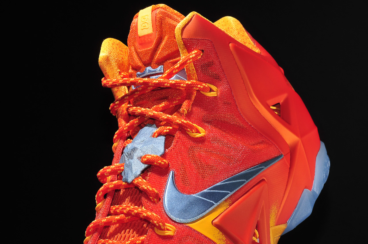 Nike LeBron 11 Forging Iron upper