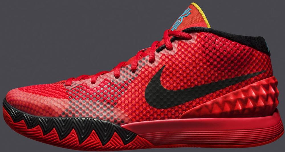 Nike Kyrie 1 Deceptive Red/Black-Deceptive Red