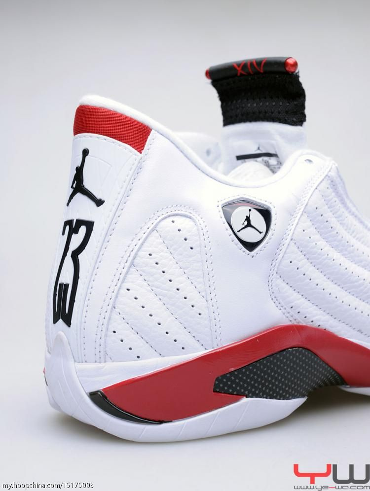 Air Jordan 14 XIV Retro White Varsity Red Black 487471-101 18