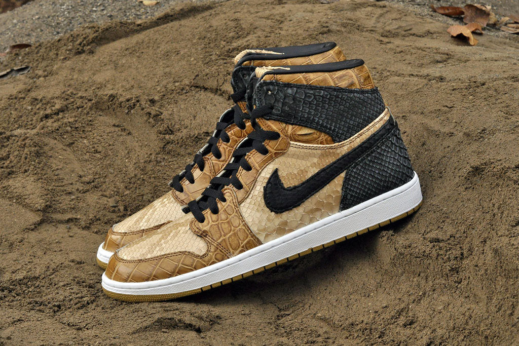 Air Jordan 1 Desert Storm by JBF Customs (1)