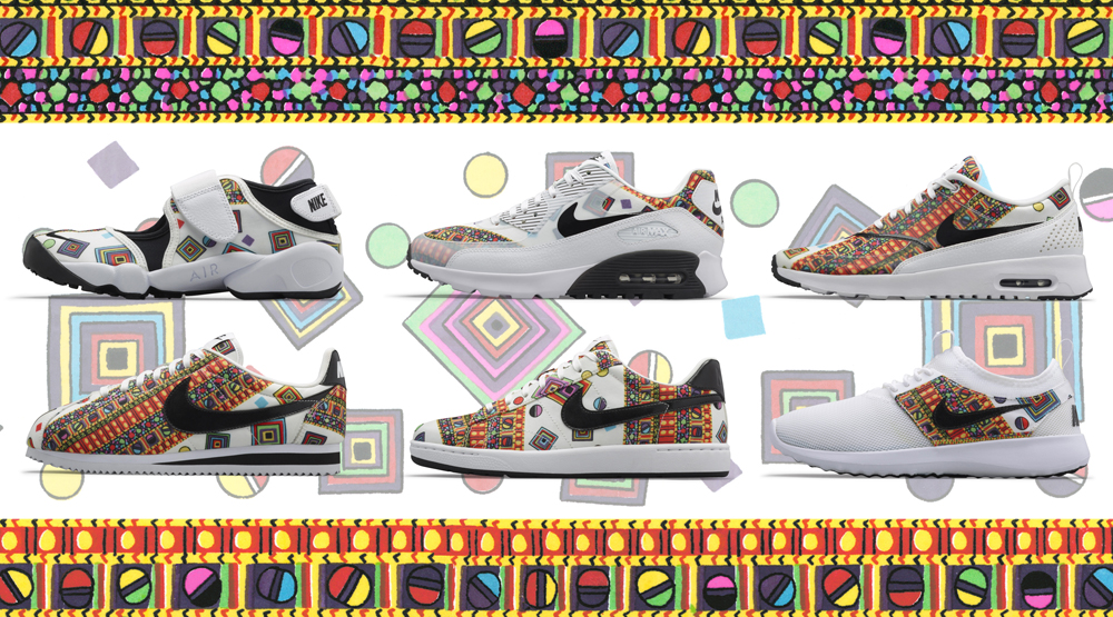 new style 778fe e574a Nike Digs Deep in Liberty Archives for  Merlin  Collection   Sole ...