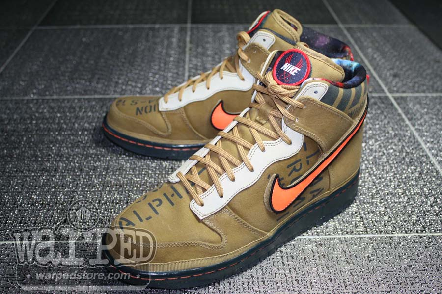 Nike Dunk High Premium QS All Star Pack Galaxy Brown 503766-780 Men