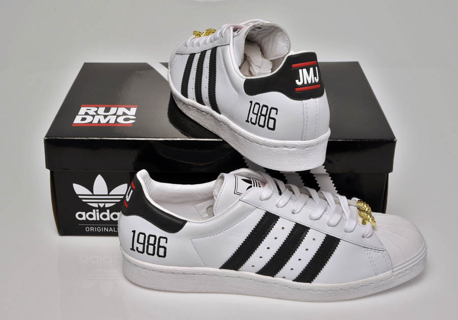 "adidas Originals Superstar 80s - Run DMC ""My adidas"" 25th Anniversary 26"