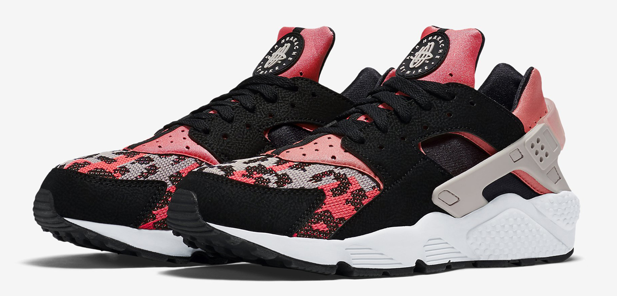 Nike Huarache PA Black Hot Lava