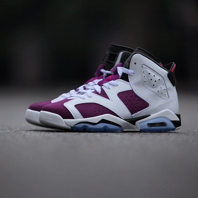 new style 24e11 893c7 Release Date: Air Jordan 6 Retro GS 'Bright Grape' | Sole ...