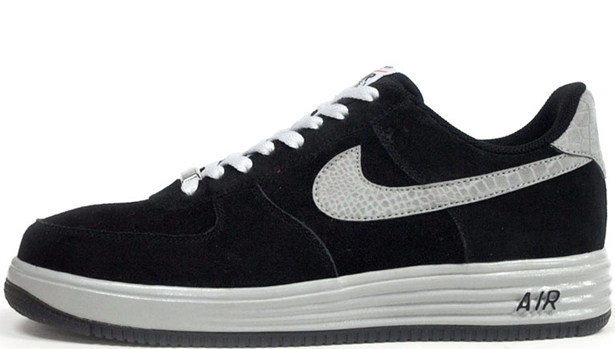 Nike Lunar Force 1 Low Reflect Black/Reflect Silver