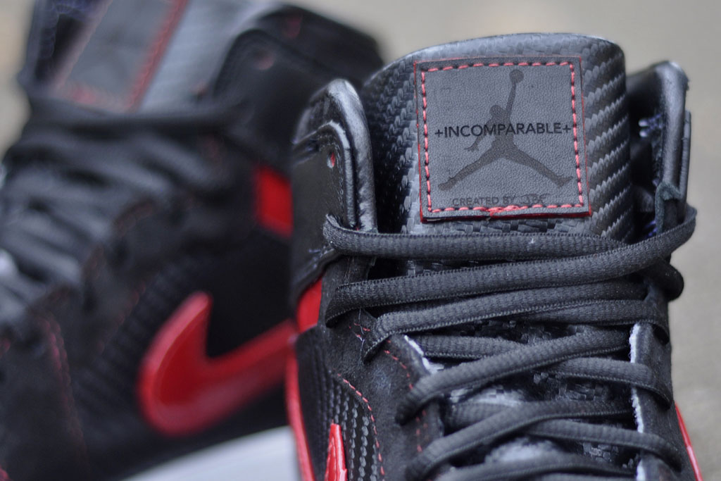 Air Jordan 1 Carbon Fiber, Suede & Patent Leather by JBF Customs (6)