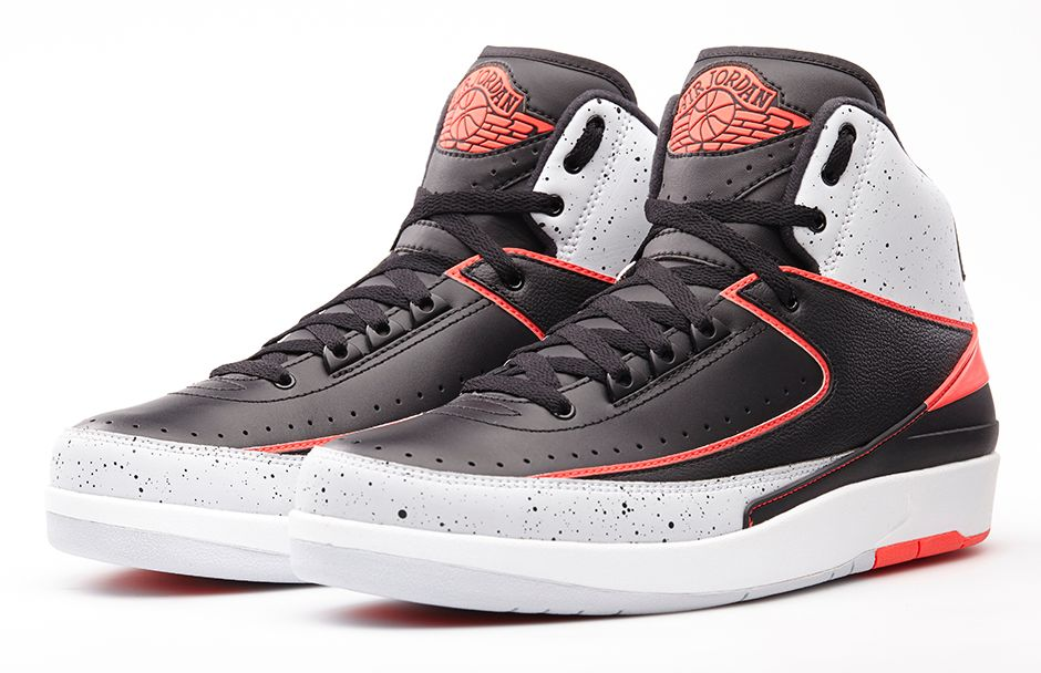 buy online c5a37 bdb87 The Air Jordan 2 Retro 'Infrared 23' Arrives Tomorrow | Sole Collector