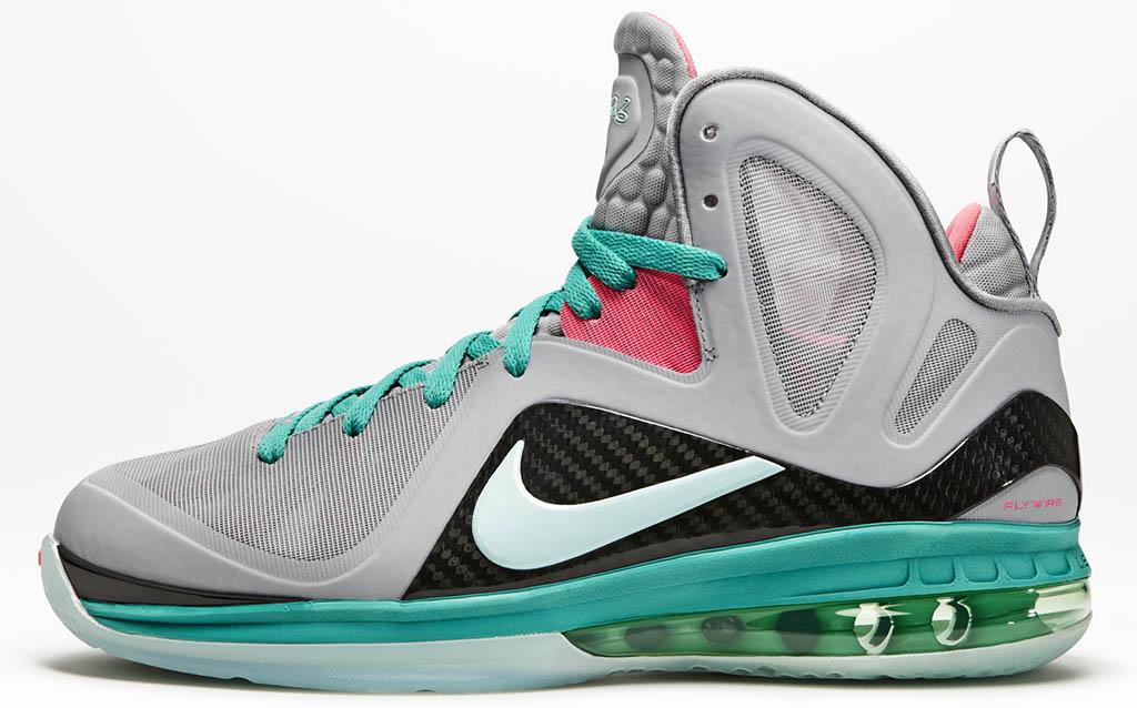 low priced f6af2 99a31 Nike LeBron 9 P.S. Elite South Beach 516958-001 (1)
