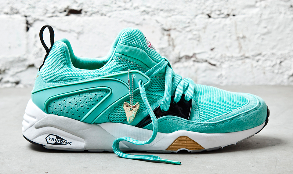 Sneaker Freaker x PUMA Blaze of Glory Sharkbait profile