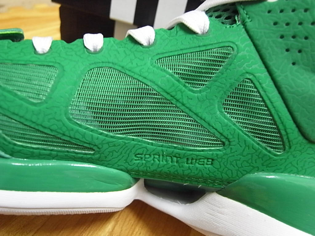 ce35a7423dd3 adidas adiZero Rose 2.5 St. Patrick s Day Fairway White Gold G49930 (3)