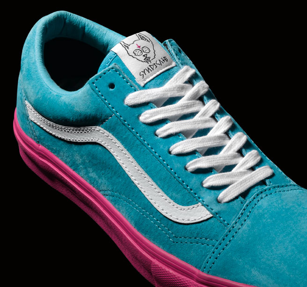 8e69643b3a Look out for the Odd Future x Vans Old Skool Pro  S  in blue pink