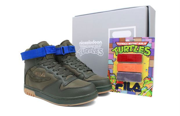 Teenage Mutant Ninja Turtles x FILA FX-100 (1)