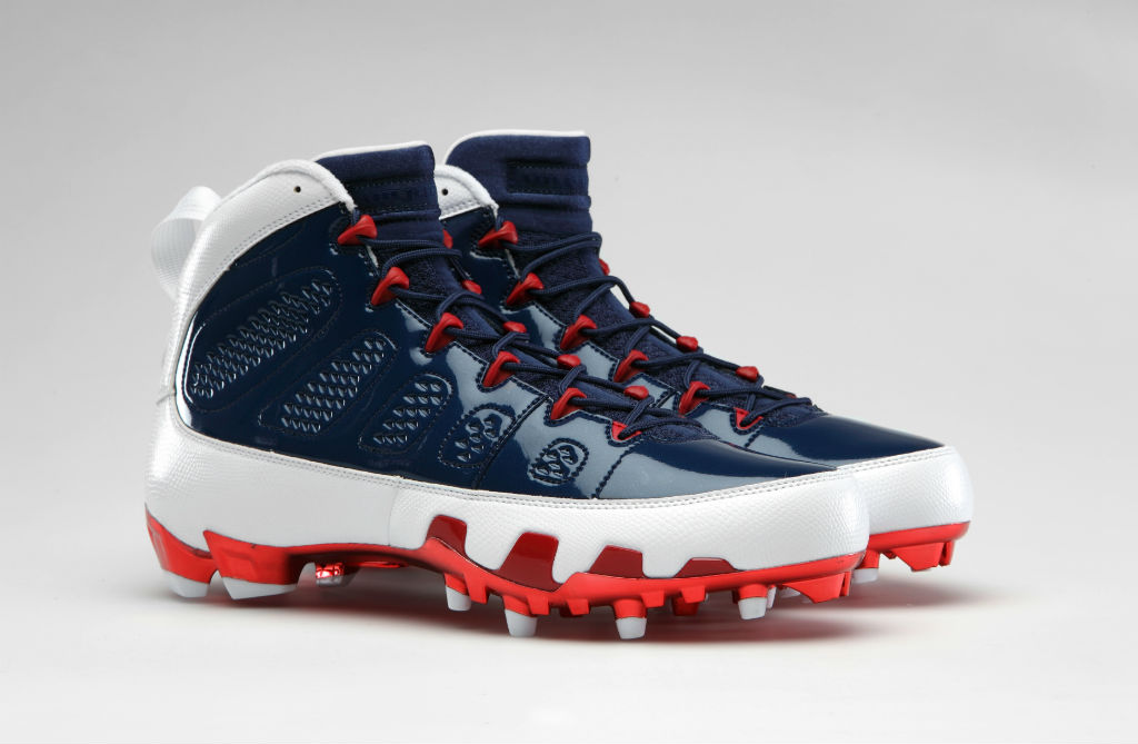 abc058d4c2a8 Andre Johnson s Air Jordan 9 IX Texans PE