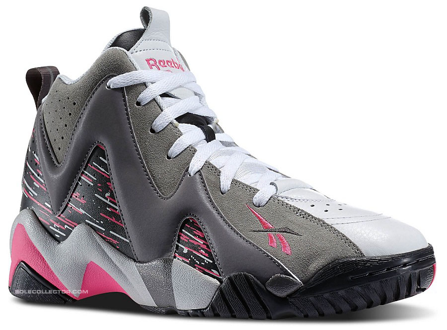 Reebok Kamikaze 2 in a New Grey   Pink Colorway  3868c5821