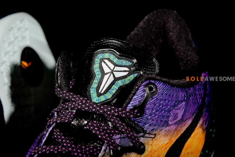 new arrival 94639 3025e Nike KOBE 8 SYSTEM - Aqua Purple-Gold   Sole Collector