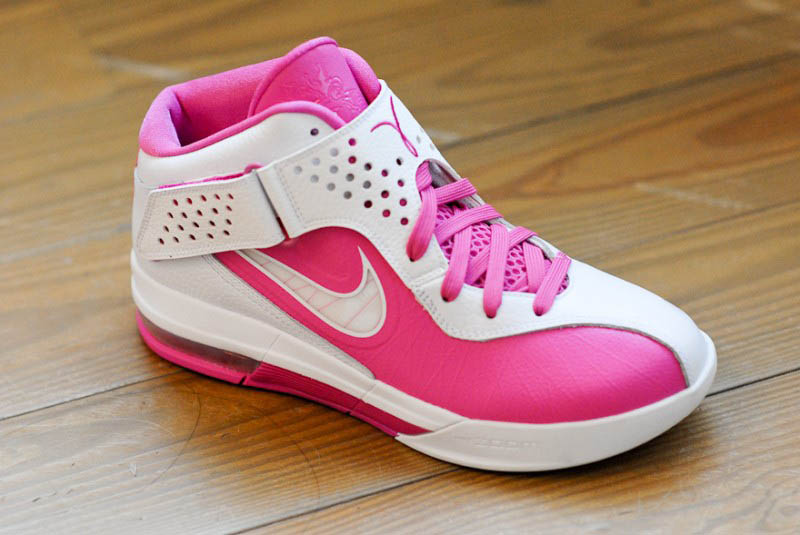 Nike Air Max Soldier V Kay Yow Think Pink Pinkfire White 454131-601