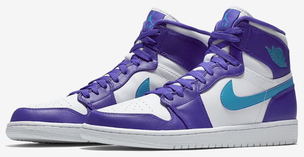 a043b003560 The Air Jordan 1 Delivered in Hornets Colors for China | Sole Collector